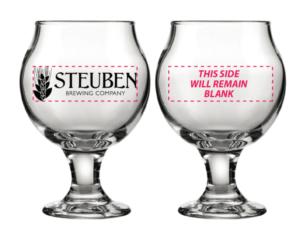 Steuben Brewing Tasting Glasses