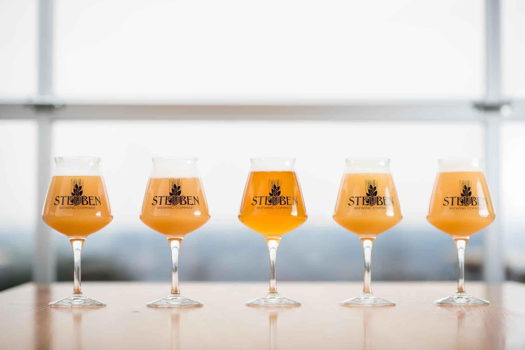 SteubenBrewing home age beer lineup - Home